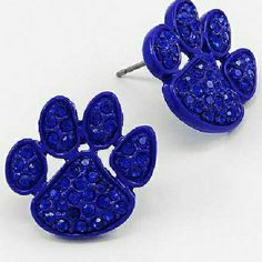 ATTENTION: UK  Wildcats Fans...University of Memphis Tigers Fans....Earrings $10 or 2 for $18...Contact me for more info. miasunlimitedfashions@yahoo.com