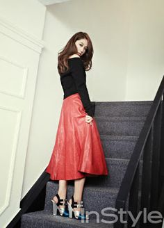 Park Shin Hye - InStyle Magazine October Issue 2013
