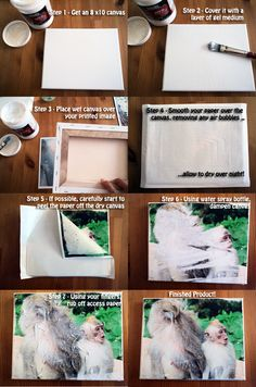 A  Pinterest project that I saw, fell in love with and knew I wanted to do right away! Especially because I just took hundreds of f...