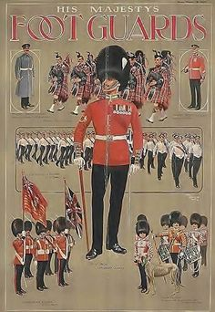 Guards recruiting poster