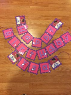 Doc mcstuffins banner by Verycraftymommy2 on Etsy