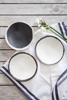 Ceramic Plate set of 2, Cake Plate,Black&white Plate,Wabi Sabi Pottery,Serving Dishes,Stoneware Plate,Housewarming Gift by 1220CeramicsStudio on Etsy https://www.etsy.com/listing/266723077/ceramic-plate-set-of-2-cake