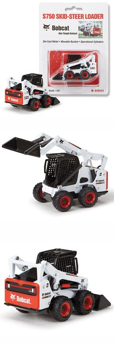 contemporary manufacture 152934: new 1:50 *bobcat equipment* model s750  skidsteer loader diecast model *nip* -> buy it now only: $12 99 on #ebay