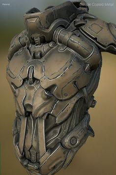 ArtStation - Junkyard Metals - Smart Materials Pack for SP, Paweł Łyczkowski: Zbrush Character, Cyberpunk Character, Cyberpunk Art, 3d Character, Character Concept, Concept Art, Character Design, Science Fiction, Smart Materials