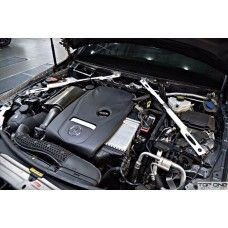 Front Strut Bar Mercedes C-Class Ultra Racing Anti Roll Bar, C Class, The Struts, Two By Two, Racing, Running, Lace