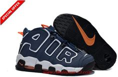 fa48304bcc8 Shop Top Deals Womens Nike Air More Uptempo GS Dark Obsidian-Orange New  Sale For Girls black ...