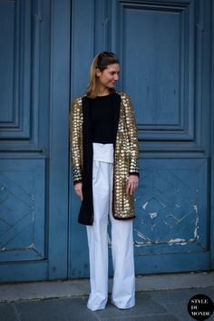 gold armoury. #SophiePera in Paris.
