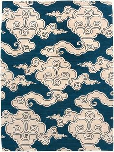 Clouds Pattern - finally one I can embrace Chinese Patterns, Japanese Patterns, Japanese Art, Japanese Design, Clouds Pattern, Pattern Art, Pattern Design, Wave Pattern, Textile Patterns