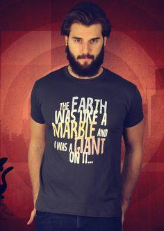 Earth Like A Marble T-Shirt von Kater Likoli, Mannheim, Deutschland   Design by Kater Likoli $19.95