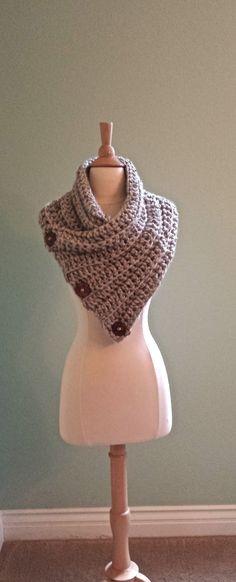 Crochet infinity scarf Outlander Inspired by AnniesHookNook
