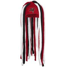 bcc922fc540 Tampa Bay Buccaneers Red Dreadlock Fleece Hat Fleece Hats