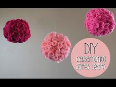 Faça você mesma: Bola de Flor - Decoração p/ festas e ambientes - YouTube