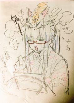 Sousei no Onmyouji    Kinako, Arima Tsuchimikado ( #Anime )
