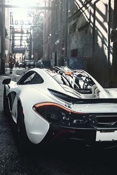 Beautiful McLaren P1. Only Supercars