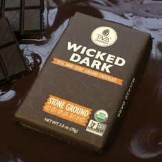 95% Stone Ground Organic Dark Chocolate. 100% Wicked Good.