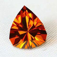 Orange jewel for monochromatic painting idea! Orange Orange, Orange You Glad, Orange Crush, Orange Color, Yellow, Rainbow Colors, Vibrant Colors, Gem Drawing, Orange Cookies