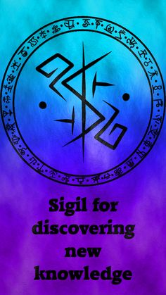 Sigil for discovering new knowledgeSigil requests are closed.