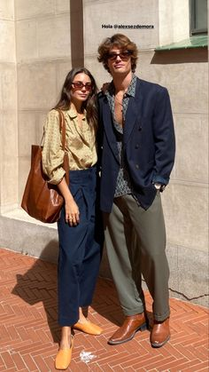 Looks Style, Looks Cool, Hight Light, Stylish Couple, Fashion Couple, Look Vintage, Couple Outfits, Basic Outfits, Parisian Style