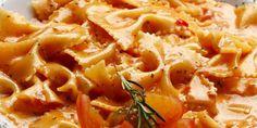 Chipotle Pepper Cream Pasta