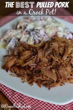 This is some of the best pulled pork I've had in a long time, and it also doesn't include any highly processed ingredients.