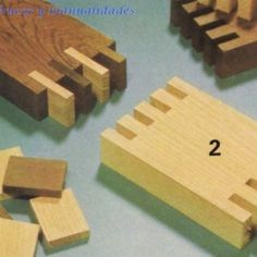 Box joints with floating connections.