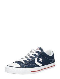 new styles ef902 9f4c0 Converse Star Player lage blauwe heren sneakers