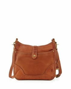 Campus Leather Satchel Bag, Saddle by Frye at Neiman Marcus.
