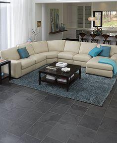 Havertys Sectional Sofa This Cream Leather Sofa Looks