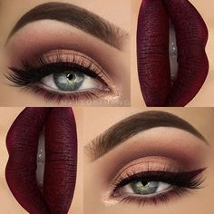 Christmas Eve Eye Makeup #Beauty #Musely #Tip