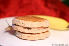Whole Wheat Banana Oatmeal Pancakes - worth a try!