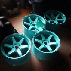 Tiffany Gift and tiffany blue colored wheels? Id be one happy girl.