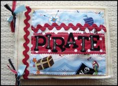 Download Pirate Quiet Book Sewing Pattern | Featured Products | YouCanMakeThis.com