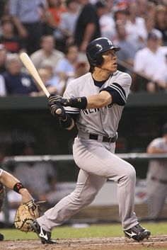 TIL On July 28 2013 Hideki Matsui signed a one-day minor league contract with the New York Yankees in order to officially retire as a Yankee Damn Yankees, New York Yankees Baseball, Ny Yankees, Nippon Professional Baseball, Equipo Milwaukee Brewers, Yomiuri Giants, Mlb American League, Batting Average, Human Body
