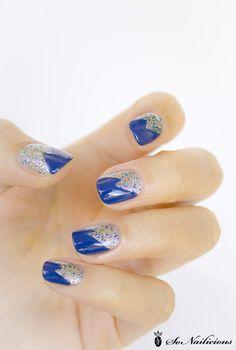 Glitter nails – 28 days of SoNailicious Nails – Day 15