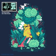 B is for Boss By Paperbeatsscissors!, today at The Yetee!