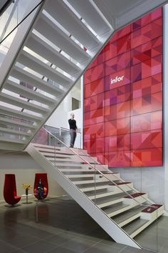 VOA have recently designed the headquarters for Infor in New York City