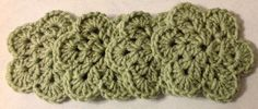 Hand Made Flower Crochet Doilies   Mint Green ,Coasters, Set Of 4  new #Handmade