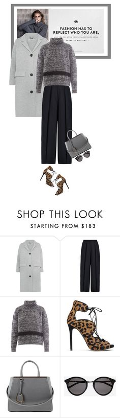 """""""Tuesdays - 23.02.16"""" by matilda66 ❤ liked on Polyvore featuring Burberry, Iris & Ink, Rochas, Tabitha Simmons, Fendi, Yves Saint Laurent, women's clothing, women, female and woman"""