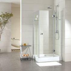 CrystalTech Bianca Square Frameless Shower Enclosure 985 x 985 x Shower Enclosure, Glass Shelves, Enclosure, Bathroom, Kitchen Fittings, Shower Shelves, Bathroom Shower, Bathtub, Buy Tile