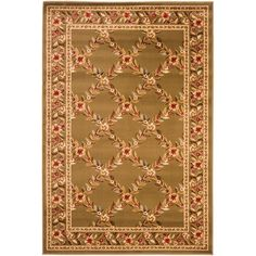 Lyndhurst Brown 3 ft. 3 in. x 5 ft. 3 in. Area Rug