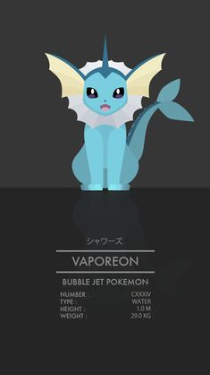 My favorite Eeveelution. Pokemon Number, Pokemon Pins, Pokemon Images, All Pokemon, Pokemon Pictures, Cute Pokemon, Pokemon Stuff, Pokemon Eeveelutions, Pokemon Pokedex