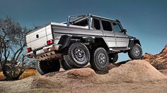 Mercedes-Benz G63 AMG 6x6. Put an XPCamper on that and it would be perfect :)