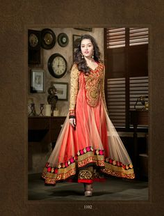 Saheli Couture Embroidered Dresses By  Shraddha Kapoor 2014  (6)