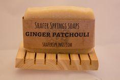 All natural Ginger Patchouli soap
