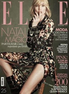 Magazines - The Charmer Pages : Doutzen Kroes - Elle Portugal December 2013