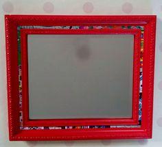 rode barok spiegel van Miss Sonja op DaWanda.com