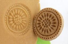 Homemade cookie stamps. #baking #DIYproject (Photo by: Dollar Store Crafts)