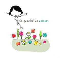 Nutrirme de todo lo bueno y bonito que me rodea. Ofrecer todo lo bueno y bonito que yo pueda dar. Hoy es un buen día para oxigenar(me) de color (el mundo). Eeeegunon mundo!! ::: Bizitza eta bihotza koloreztatu! Colors & Life. Colors in Life :::