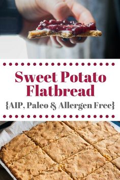 Sweet Potato Flatbread {Allergen Free} - The Sweet Pea Blogger