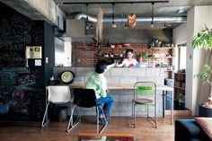 「エイトデザイン」のリノベーション事例「イメージはブルックリンのアパート。 大好きな中古家具が似合う空間に」